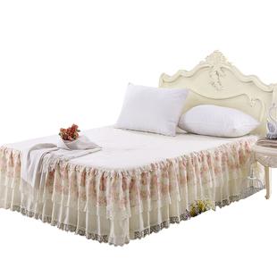 床裙式公主风单件席梦思床套床罩可在爱乐优品网领取30元淘宝优惠券