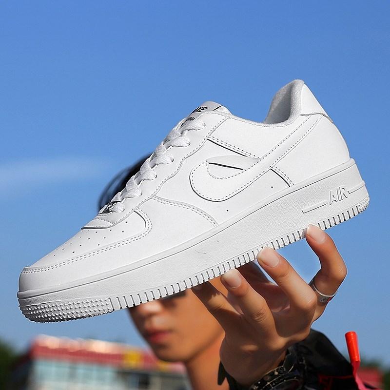 空军一号男鞋aj1低帮小麦色板鞋春季网红小白鞋子樱木花道乔1潮鞋
