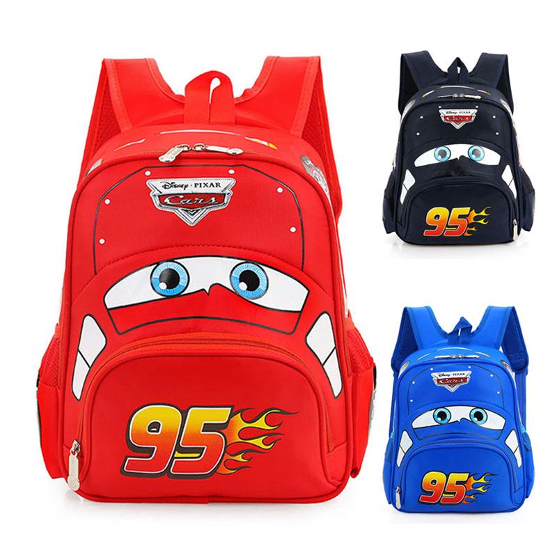 儿童汽车总动员闪电麦昆书包男女孩3-4-5-6岁幼儿园可爱小背包潮2