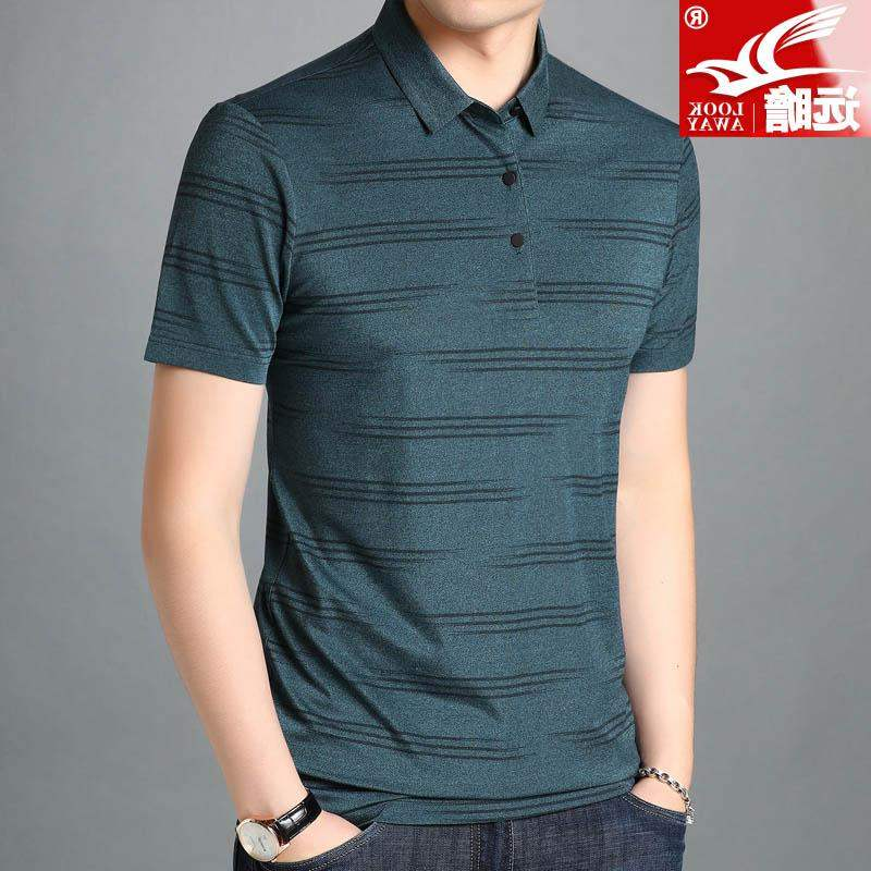 High grade brand summer mens fashion casual Polo Polo Polo polo shirt with short sleeves
