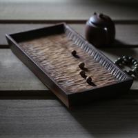 黑胡桃木干泡茶台禅意原实木托盘