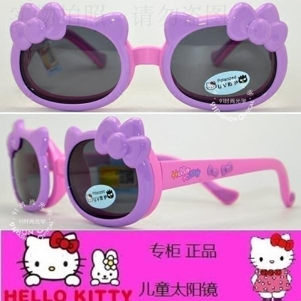 皇冠老店  Hello Kitty专柜正品时尚潮女儿童太阳镜偏光镜 HKA1P