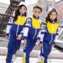 幼儿园园服春秋装棒球服英伦套装运动服儿童班服三件套小学生校服