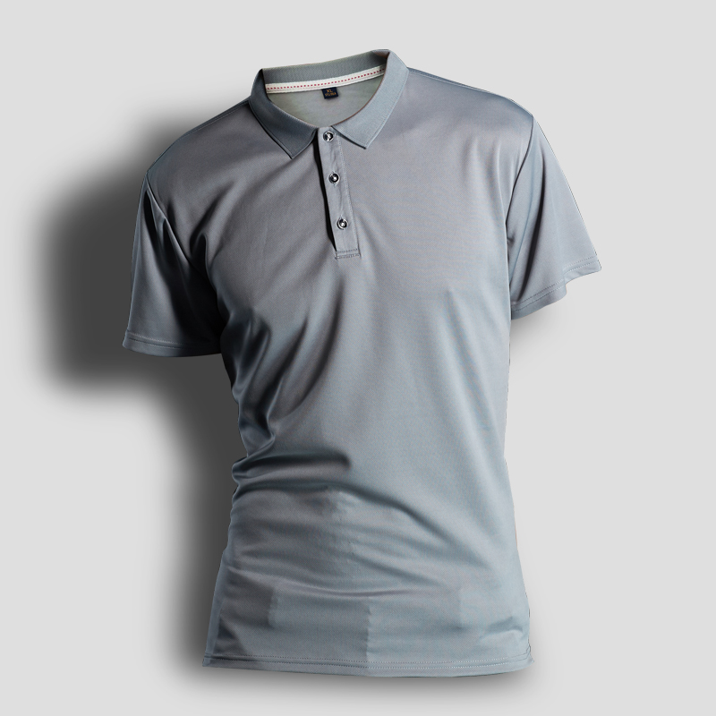 男式POLO衫定製 速乾運動翻領短袖T恤廣告文化衫印字DIY工廠定做