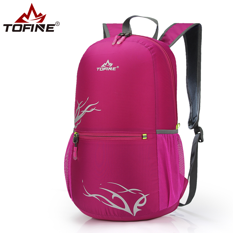 Urban travel skin bag super light mens and womens universal outdoor foldable bag childrens outdoor backpack super light carrying
