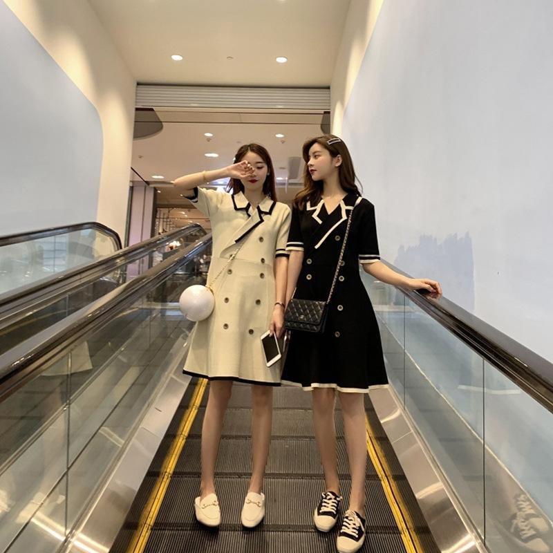 闺蜜装夏装姐妹装裙子酷韩版小清新森系超仙2019夏装连衣裙网红款限30000张券