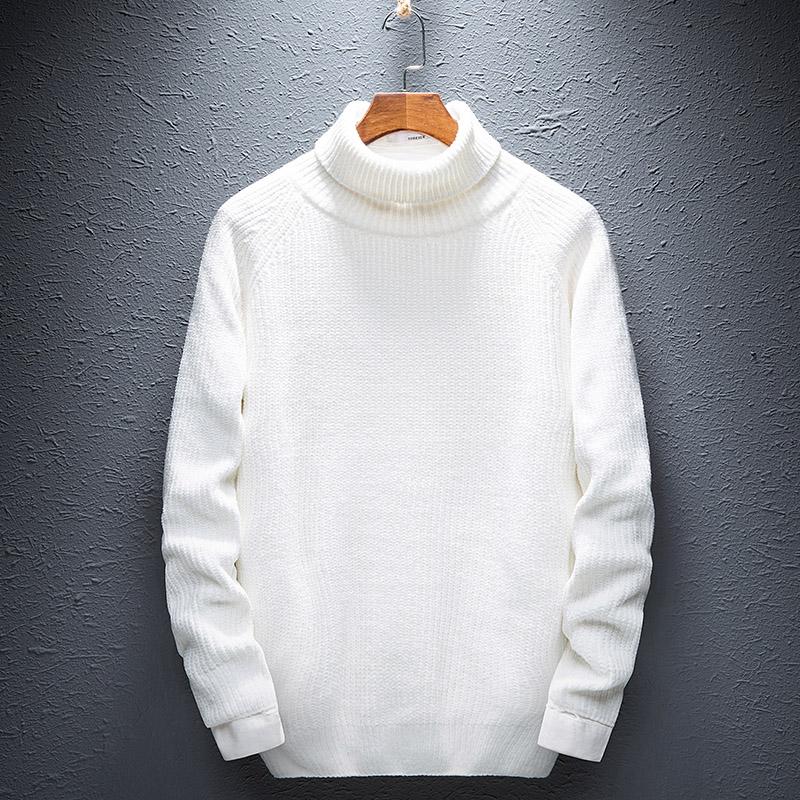 秉龙2018新款毛衣男士冬季打底针织衫时尚潮流韩版学生青年男装