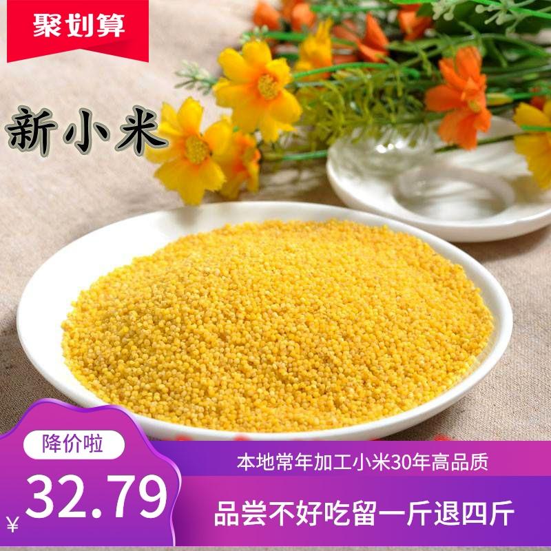 2020藁城马庄新黄金谷小米5斤小黄米农家月子米小黄米包邮