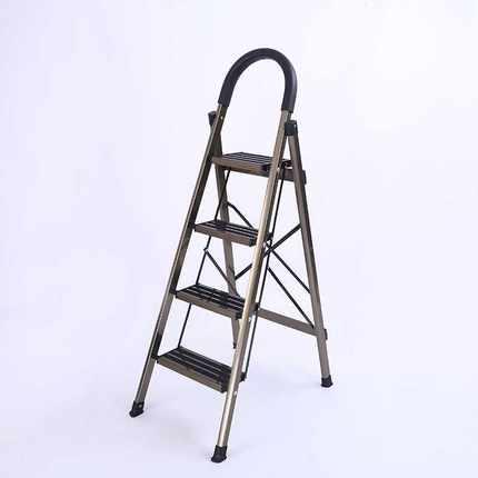 一步到位用折叠梯三步人字梯防滑踏板梯铝合金伸缩关节折叠升降
