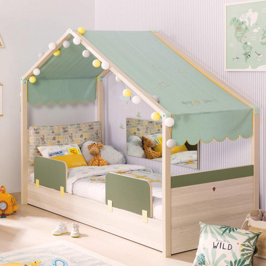 婴儿床宝宝床 欧式新款儿童床 Cilek草莓原装进口儿童房家具