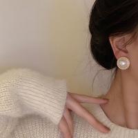 查看珍珠耳环2021年新款潮气质高级设计感小众耳钉复古港风百搭耳饰女价格