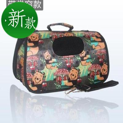Small backpack, pet going out bag, hand in hand bag, easy to carry handle, small dog bag, medium sized going out