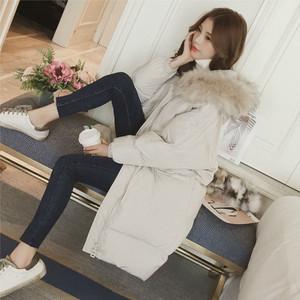 37棉衣女中长款宽松大码时尚2018冬季新款韩版加厚保暖羽绒棉服
