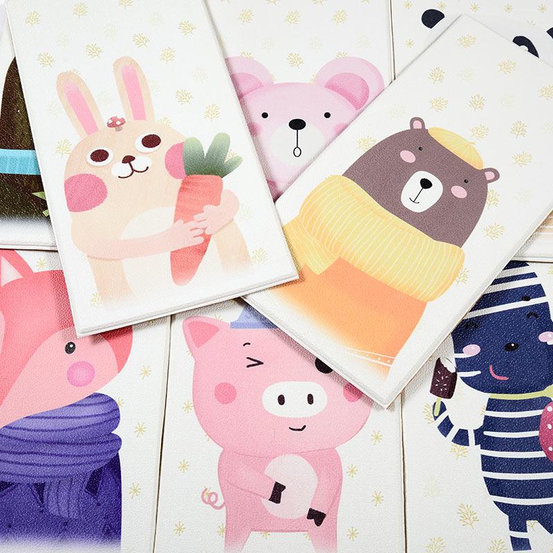 自粘3d立体墙贴卡通儿童房墙纸防水软包卧室背景墙幼儿园防撞墙裙
