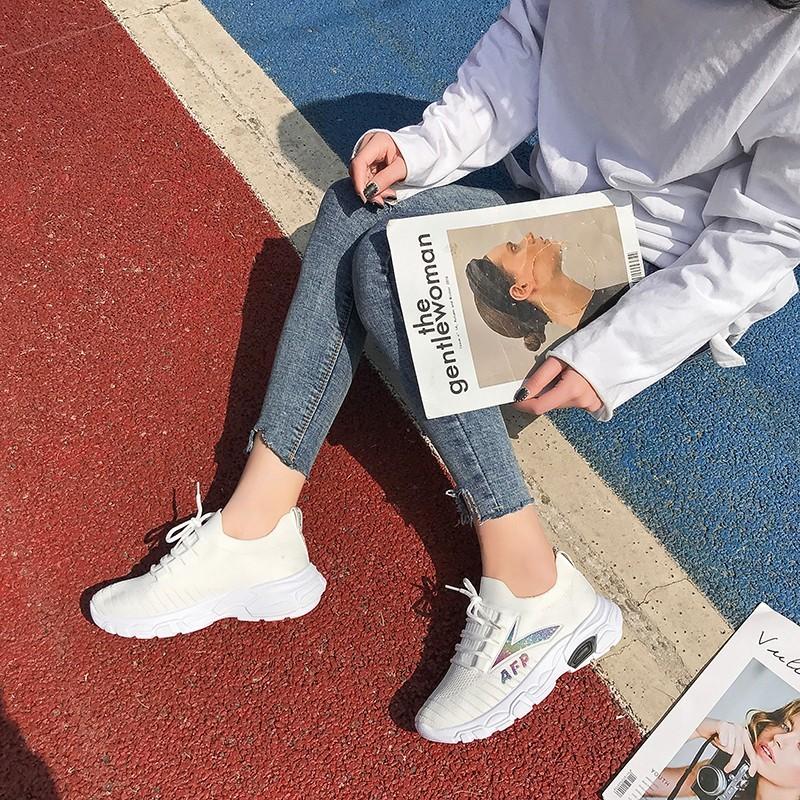 (用5.1元券)透气网面韩版老爹2019夏季运动鞋
