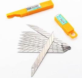 进口日本OLFA 30度尖角 美工刀片 DKB-10墙纸/贴膜刀片10片
