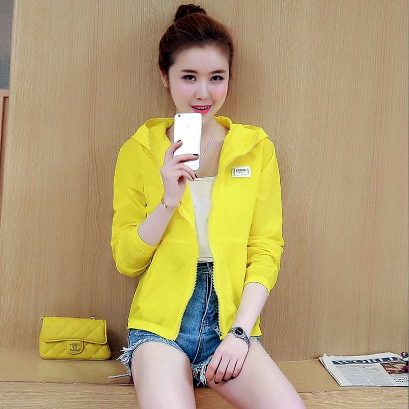 Sunscreen clothes mens light skin clothes in summer breathable sunscreen windbreaker coat womens casual top fishing prevention in summer
