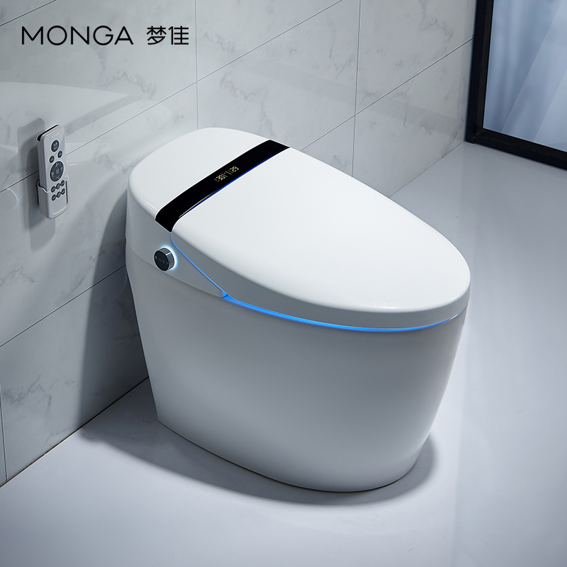 [boiling cup award] Mengjia all in one intelligent toilet with the sense of feet, full automatic flush and hot toilet