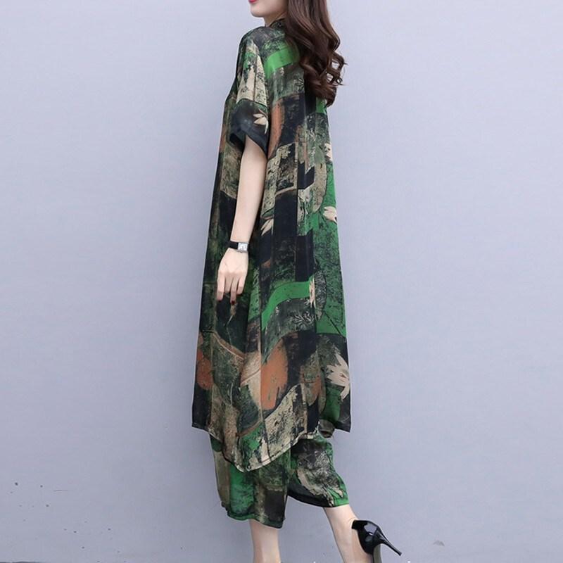 博雅琪柒月雅画思曼莉纤衣良品女装店2020春秋装新款阔腿裤三件套