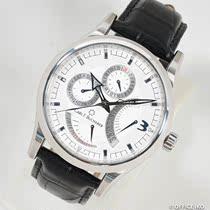 f.Bucherer手表白盘双历自动机械男瑞士腕表二手正品宝齐莱Carl