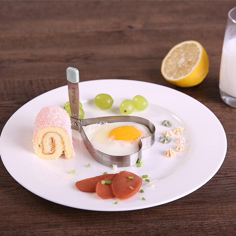 Япония FaSoLa нержавеющей стали омлет устройство сердце любовь омлет плесень творческий лотос яйца обжаренный яйца модель