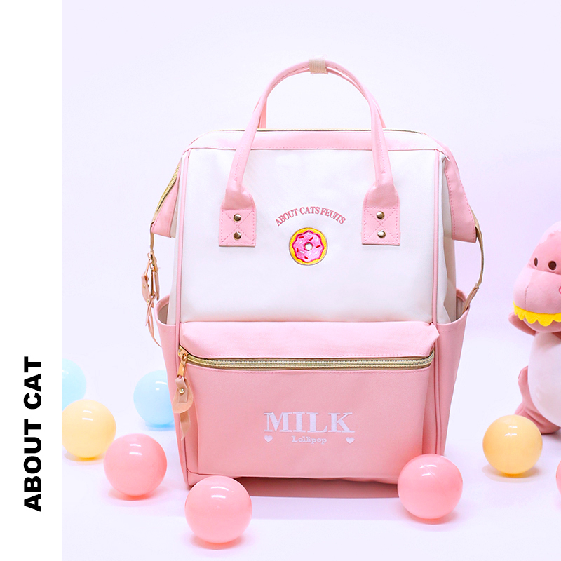 About cats schoolbag for junior high school students