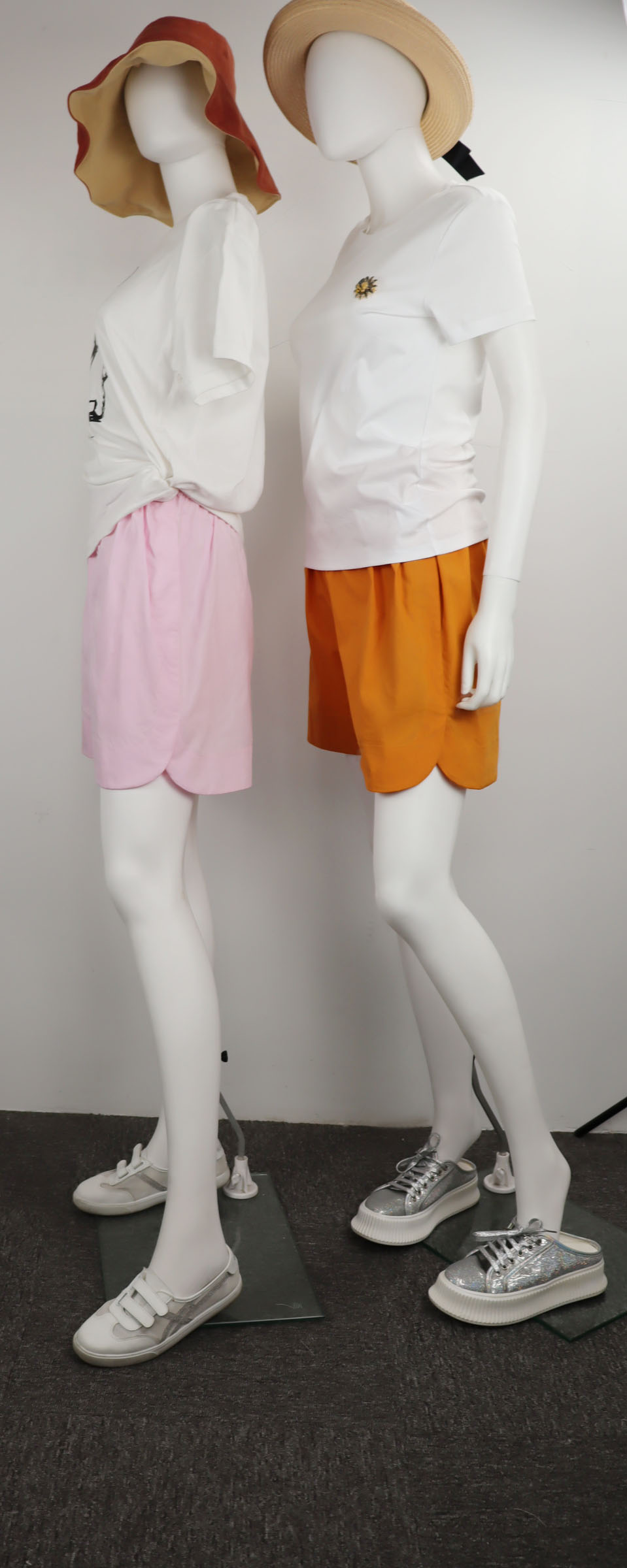 Summer 2020 cotton loose shorts, sports pants and jogging pants