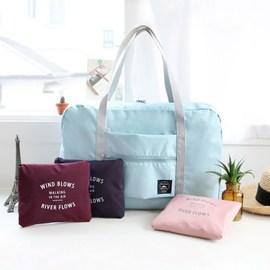 旅行轻便折叠包便携多功能超轻可收纳大容量可套拉杆行李箱收纳袋图片
