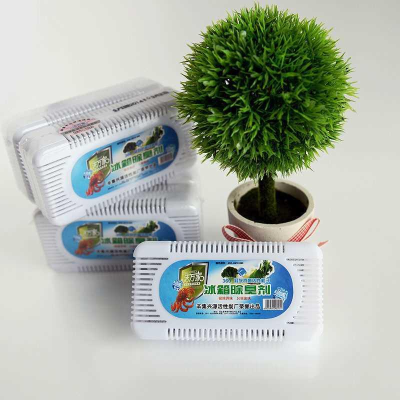 满19.00元可用1元优惠券简易实用冰箱吸湿去异味神器除味剂