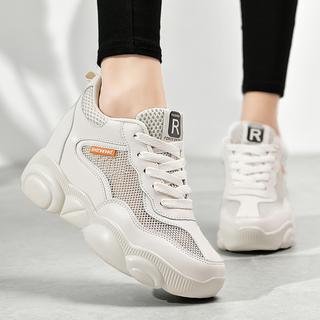 恩施耐克正品潮鞋夏季新款内增高鞋子2020女鞋透气运动小白鞋女春