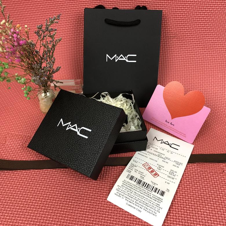 限时2件3折精品原版 魅可/MAC 纸袋 口红盒礼品袋唇膏纸袋购物袋饰品手提袋