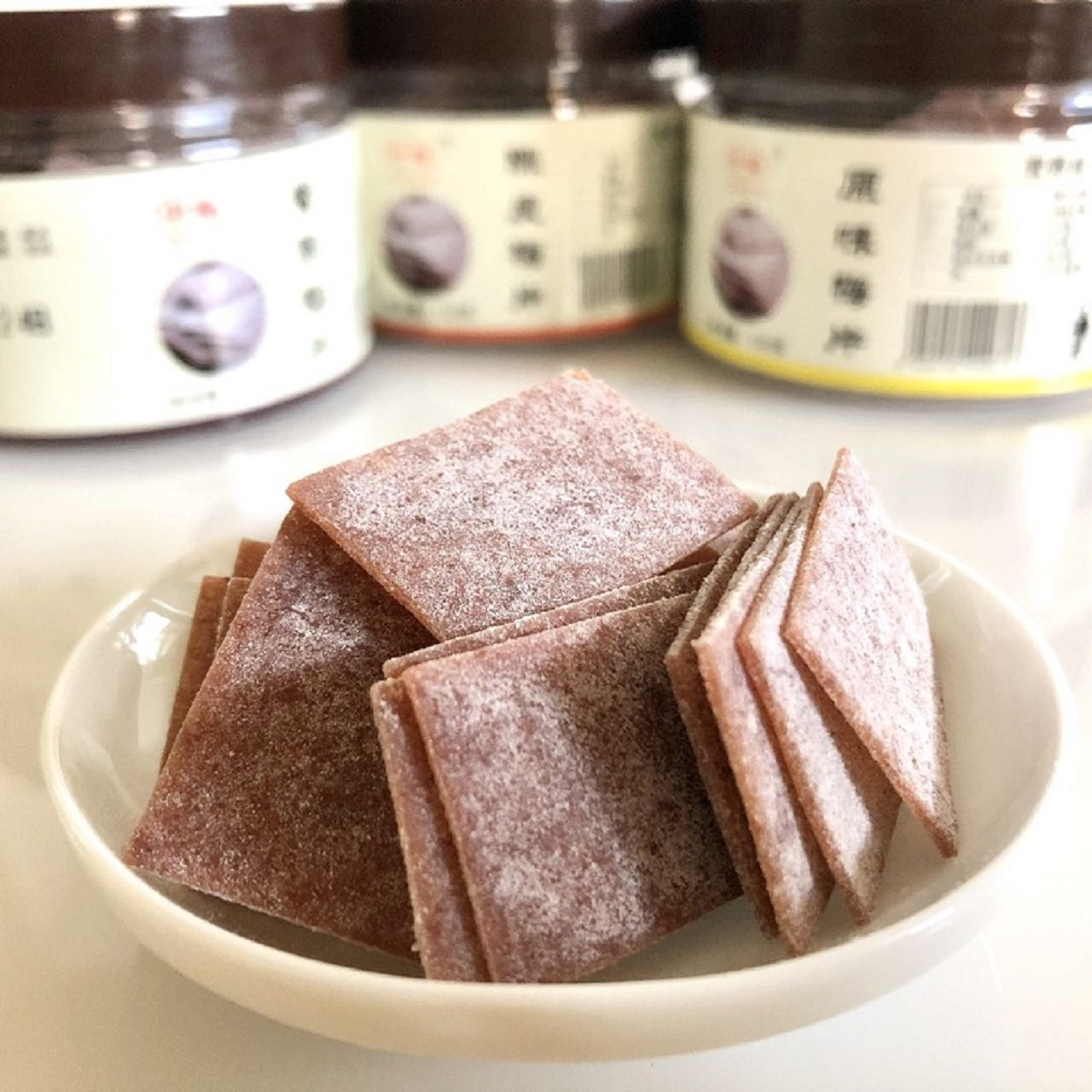 日式梅片陈皮梅片紫苏梅片125g酸甜话梅青梅片干出口品质休闲零食