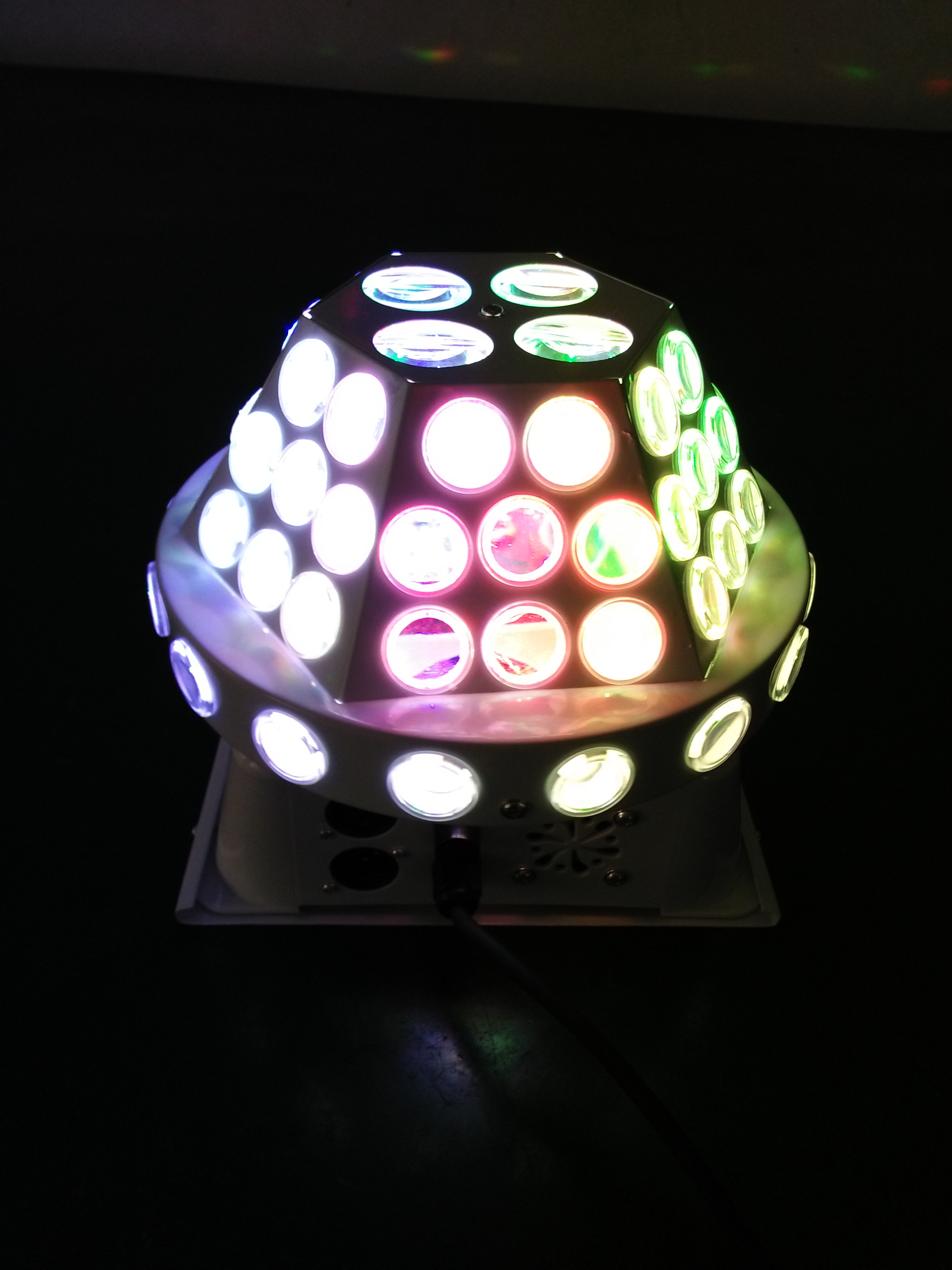 Cosmic space flying saucer magic ball lamp stage light magic ball lamp crystal magic ball lamp