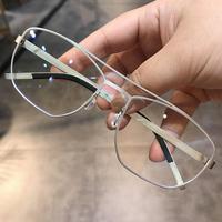 简丹剋萝心近视防蓝光眼镜框男女潮款平光镜防辐射眼镜架变色瘦脸