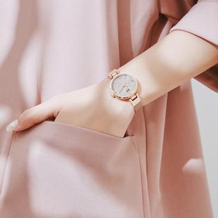 时尚小表盘细带手表女2019年新款小巧精致气质防水学生女表ins风