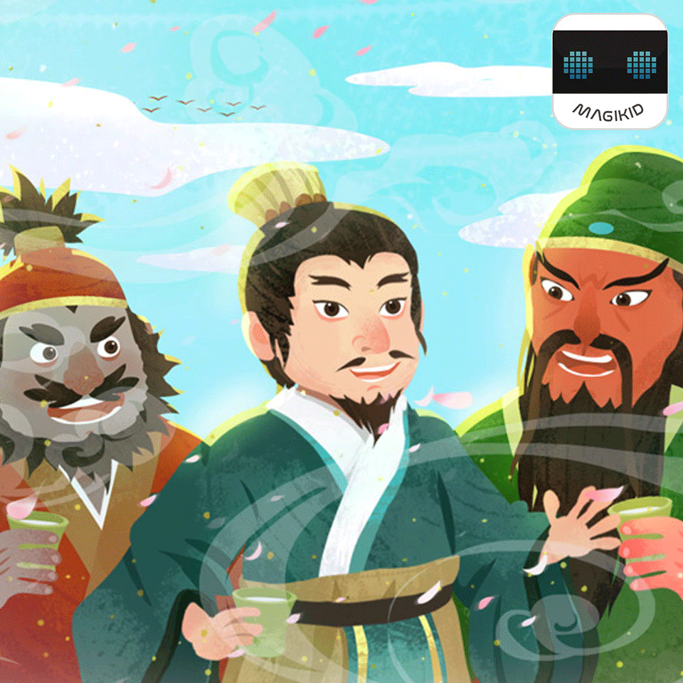 Magic children the romance of the Three Kingdoms four masterpieces elaborate interpretation of children and parents love to listen to the clever characterization of literary history tmall elves audio content
