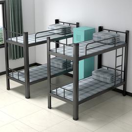 铁床上下铺午托午休三层床小学生幼儿园午托儿童学校宿舍床高低床