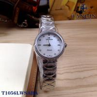 瑞士tangin天珺手表 石英表女士时尚腕表T1056LWSABA小表盘1056