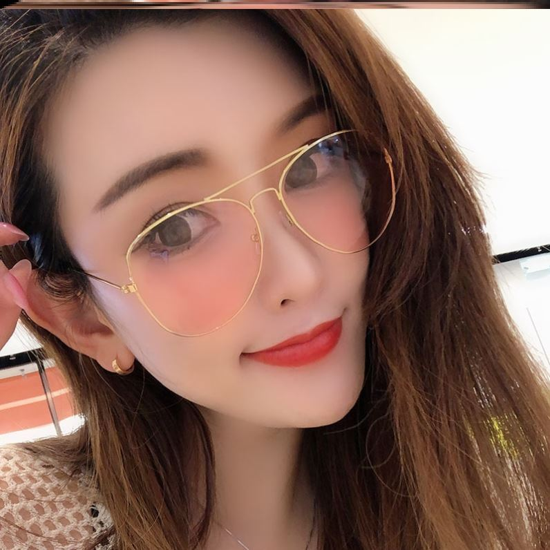 New night driving glasses color windproof seaside 2020 middle-aged and elderly people night vision American girls too