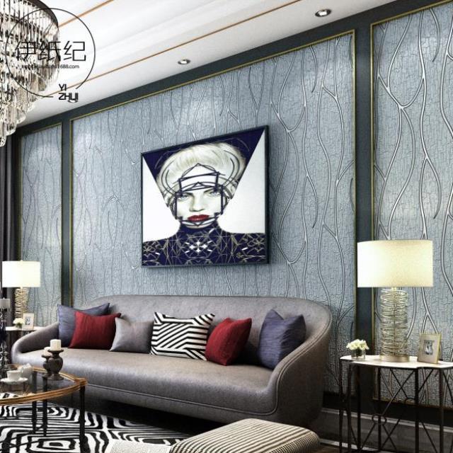 餐厅壁纸简约贴纸卧室墙壁贴纸清新房间奶茶店学生个性背景装饰贴