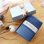 纯棉毛巾礼盒定制公司LOGO刺绣刻字印刷福利教师节礼品伴手礼物