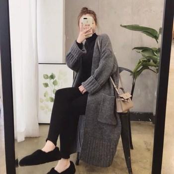 2020秋冬季新款韩版女装慵懒风毛衣