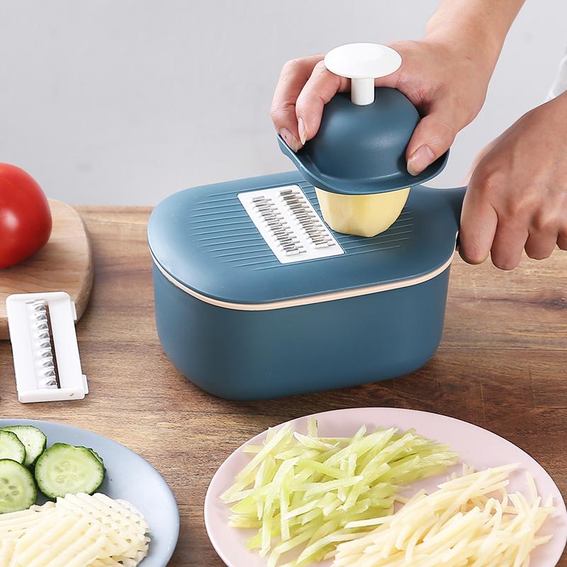 智途多功能切菜神器厨房蔬菜切丝器土豆擦片切花萝卜黄瓜刨丝工具