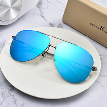 Helen Keller sunglasses, men's sunglasses, clam glasses, Korean version of Chao Chao driving polarizing glasses, myopic driving glasses