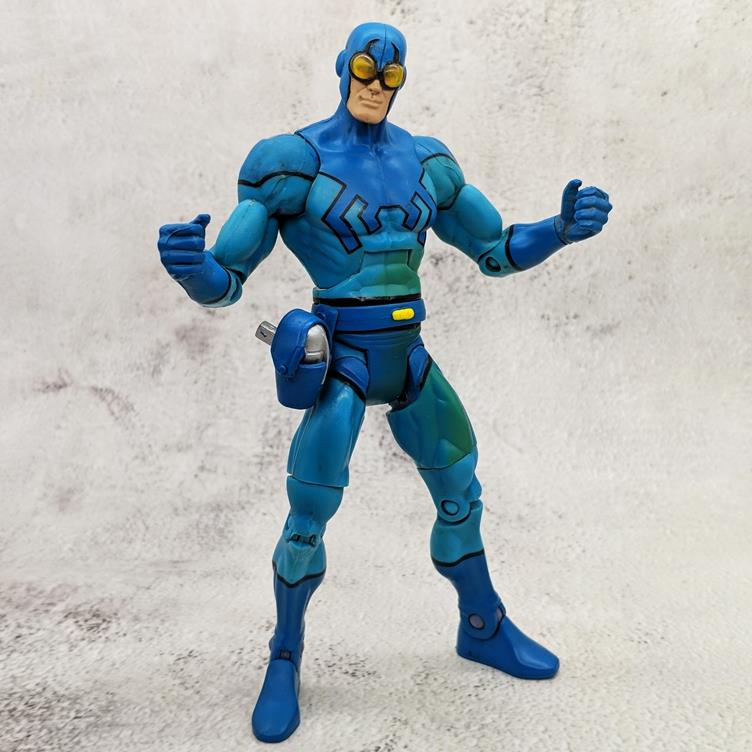 Batman vs Superman justice alliance 7 generation BLUE BEETLE movable doll hand made doll
