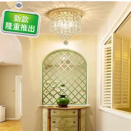 过道灯走廊玄关q小吊灯楼梯灯阳台客厅水晶灯美式紧凑型节能荧光图片