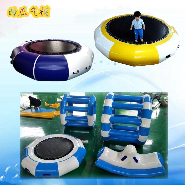 儿童游乐充气水上乐园设备闯关蹦床跷跷板风火轮百万海洋球池玩具