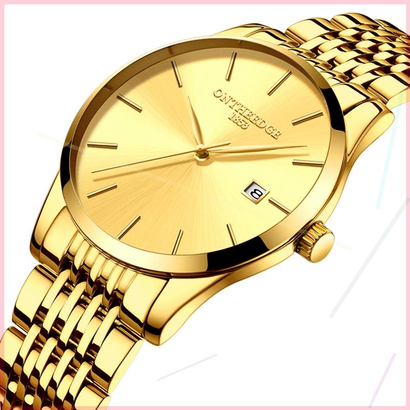 手表男士超薄镂空全自动电子表防水时尚潮流2019新款概念男表。