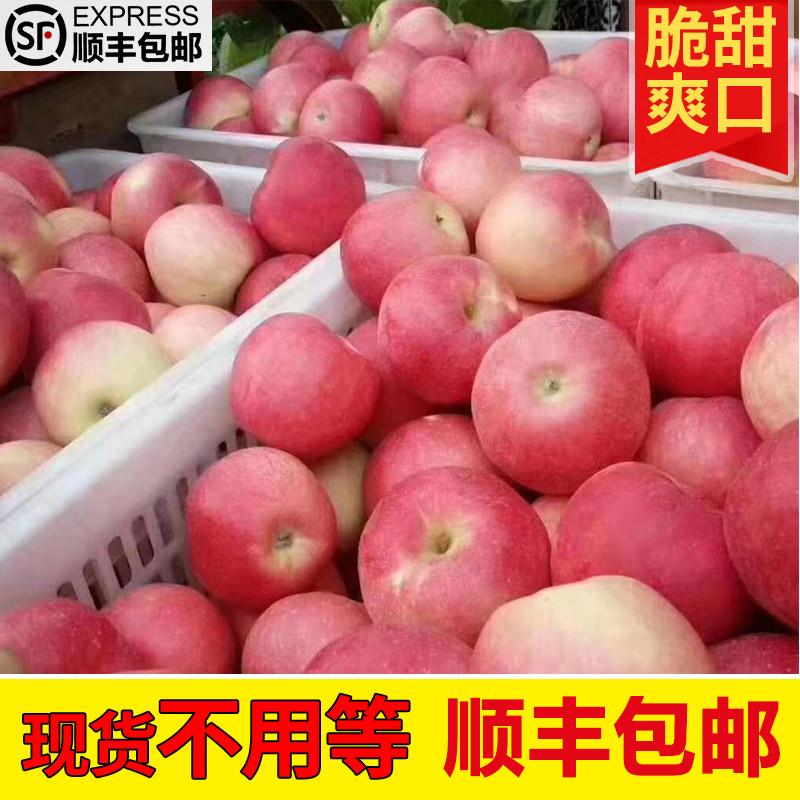 券后16.80元陕西红富士脆甜新鲜整箱带箱5 /