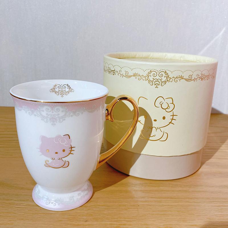 hellokitty【尾货清仓】马克杯家用水杯送礼骨瓷杯办公室喝水杯子